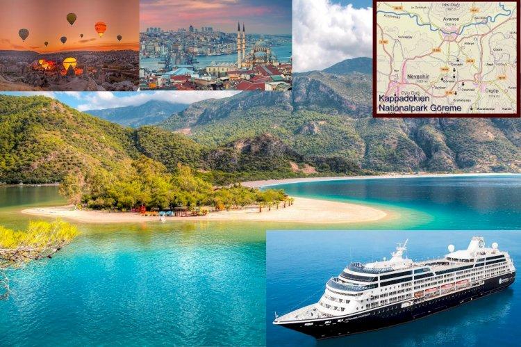 Azmara ve Onward Gemisi, Avrupa 2022 Seyahatlerini Açıkladı