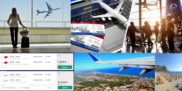 Rus Turistler İçin, Türkiye'ye Uçak Biletleri Ucuzluyor